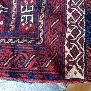 Other - Pair of Hand Knotted Wool Persian Saddlebags